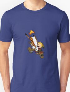 captain calvin and hobbes Unisex T-Shirt