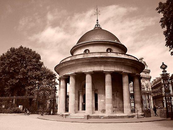 La Rotonde Du Parc Monceau by Alex Cassels