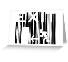 You don't HAVE TO BUY what you don't NEED... Greeting Card