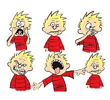 calvin expression yucks by DinaPurifoy