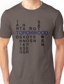 Torchwood Team Wordplay - Series 2 Unisex T-Shirt