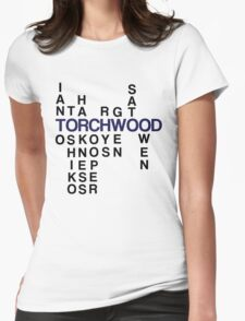 Torchwood Team Wordplay - Series 2 Womens Fitted T-Shirt