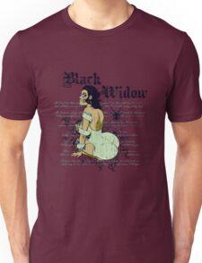 Black widow Unisex T-Shirt