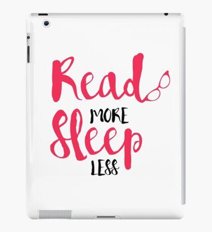 Read/Sleep 2 iPad Case/Skin