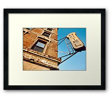 Ghost Hotel Framed Print