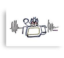 Soundwave robot Canvas Print