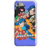 Mega Man 3 Japanese Ad art (Rockman 3) shirt NES / Famicom iPhone Case/Skin