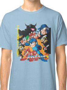 Mega Man 3 Japanese Ad art (Rockman 3) shirt NES / Famicom Classic T-Shirt