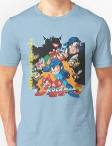 Mega Man 3 Japanese Ad art (Rockman 3) shirt NES / Famicom Unisex T-Shirt