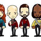 Space... The final frontier. These are the voyages of the starship Enterprise by Bantambb