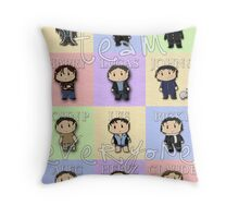 Team Everyone Richard Armitage Characters - With Text Throw Pillow