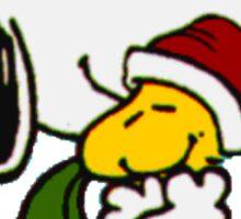 Christmas snoopy Sticker