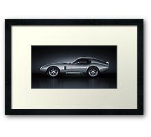Shelby Daytona - Bullet Framed Print