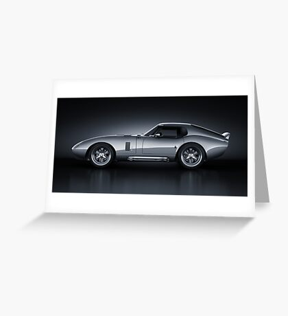 Shelby Daytona - Bullet Greeting Card