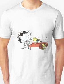 play music group snoopy Unisex T-Shirt