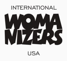 International Womanizers USA by theshirtshops