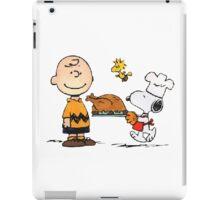 snoopy chiken iPad Case/Skin