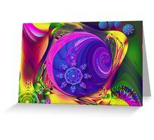 Just a Fantasy, abstract fractal artwork Greeting Card