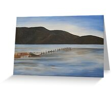 The Calm Water of Akyaka Greeting Card