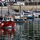 Harbour Shot  2013-08-14-    Lyme, Dorset UK by lynn carter