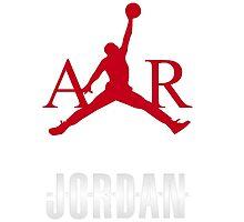 M Jordan air by DinaPurifoy