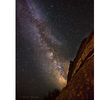 Holy Milkyway Batman! Photographic Print