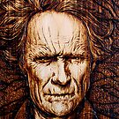 Clint Eastwood - Hairy Dirty by uberdoodles