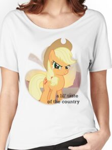 Applejack the country gal' Women's Relaxed Fit T-Shirt
