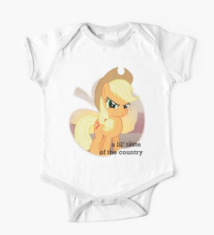 Applejack the country gal' One Piece - Short Sleeve
