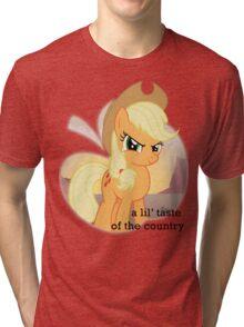 Applejack the country gal' Tri-blend T-Shirt