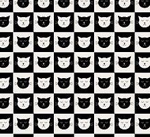 Cat Tiles by georgiasdesigns