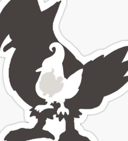 Starly Evolution  Sticker