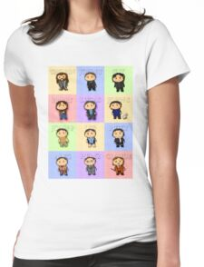 Team Everyone Richard Armitage Characters Tee - Without Text Womens Fitted T-Shirt