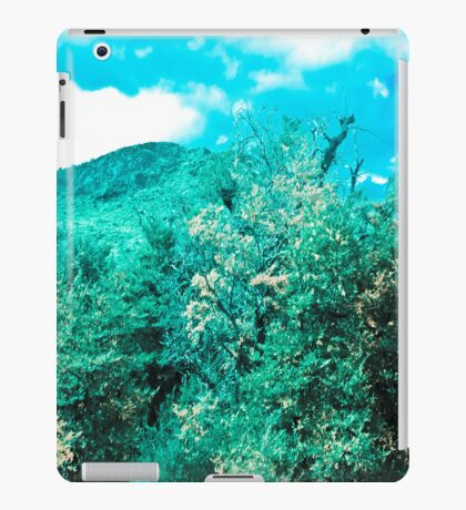 Blue, green precious. iPad Case/Skin