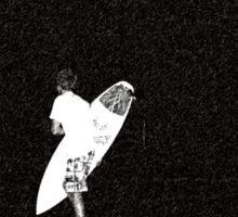 Night Surfing Sticker