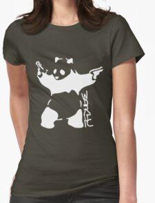 Bansky Panda - Mr Teez Womens Fitted T-Shirt