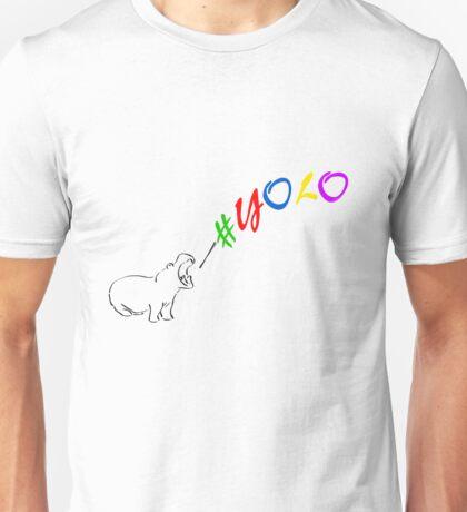#Yolo Hippo - Mr Teez Unisex T-Shirt