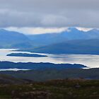 Torridon Mountains from Bealach na Bà by Claudia Dingle