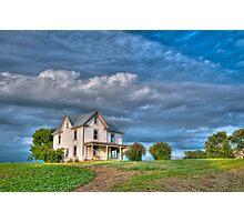 Abandoned Farm House Photographic Print
