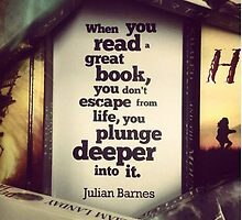 Book Quote - Julian Barnes by niugnep27