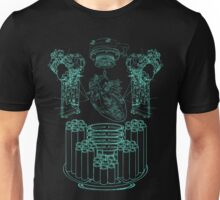 Robot X-Ray Design Unisex T-Shirt