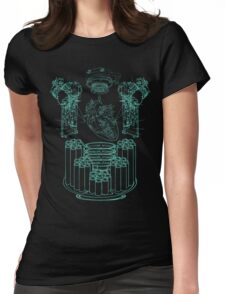 Robot X-Ray Design Womens Fitted T-Shirt