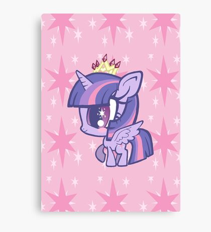 Weeny My Little Pony- Princess Twilight Sparkle Canvas Print