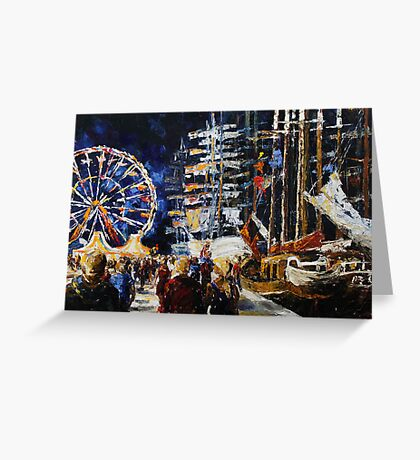 Hanse Sail Rostock, Germany Greeting Card