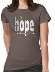 HOPE Christian T-Shirt / iPhone Cover Case   Hold On. Pain Ends. T-Shirt