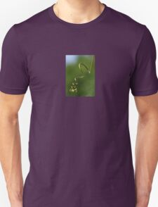 Spring Shaped Passion Flower Tendril Unisex T-Shirt
