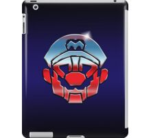 Mariobots... ROLL OUT! (metal version) iPad Case/Skin