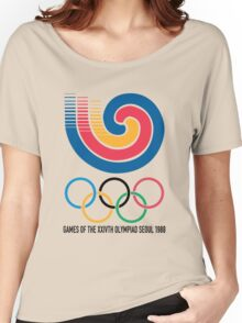 Seoul 1988 Olympics Women's Relaxed Fit T-Shirt