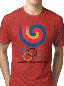 Seoul 1988 Olympics Tri-blend T-Shirt
