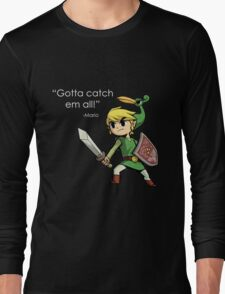 Childhood Destruction (Pokemon, Zelda, Mario) Long Sleeve T-Shirt